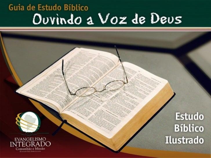 O Santuário de Deus - Ouvindo a Voz de Deus, Estudo Bíblico, Igreja Adventista