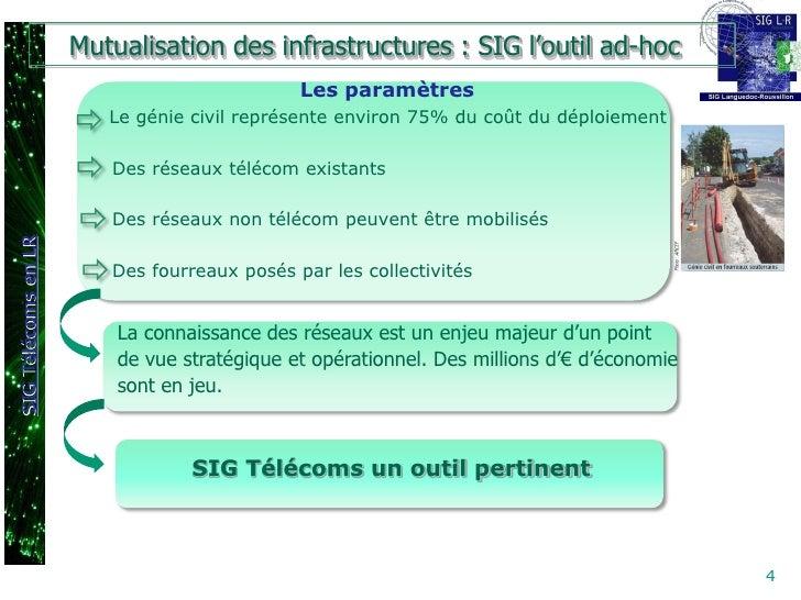 Mutualisation des infrastructures : SIG l'outil ad-hoc                                                                    ...