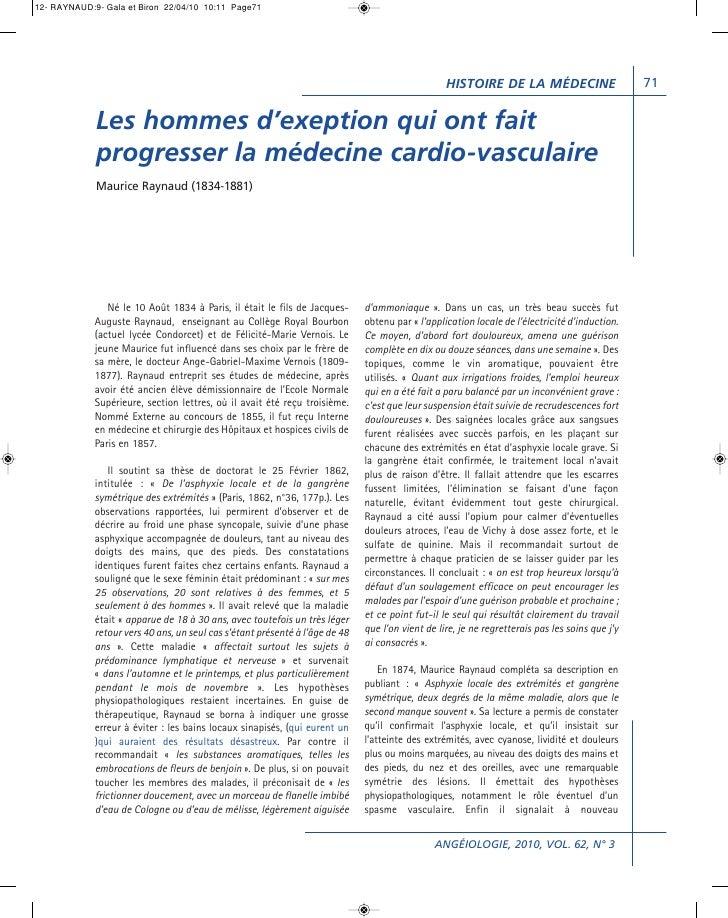 12- RAYNAUD:9- Gala et Biron 22/04/10 10:11 Page71                                                                        ...