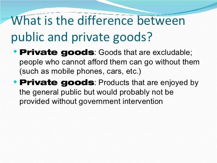 differences between public and private sector labor relation