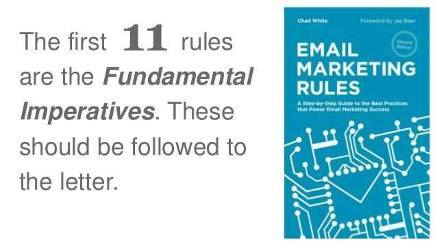 120 Email Marketing Rules to Live By Slide 3