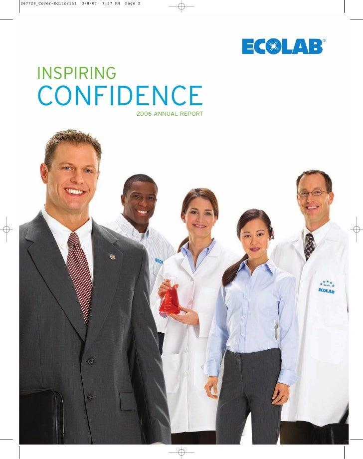 INSPIRING CONFIDENCE  2006 ANNUAL REPORT