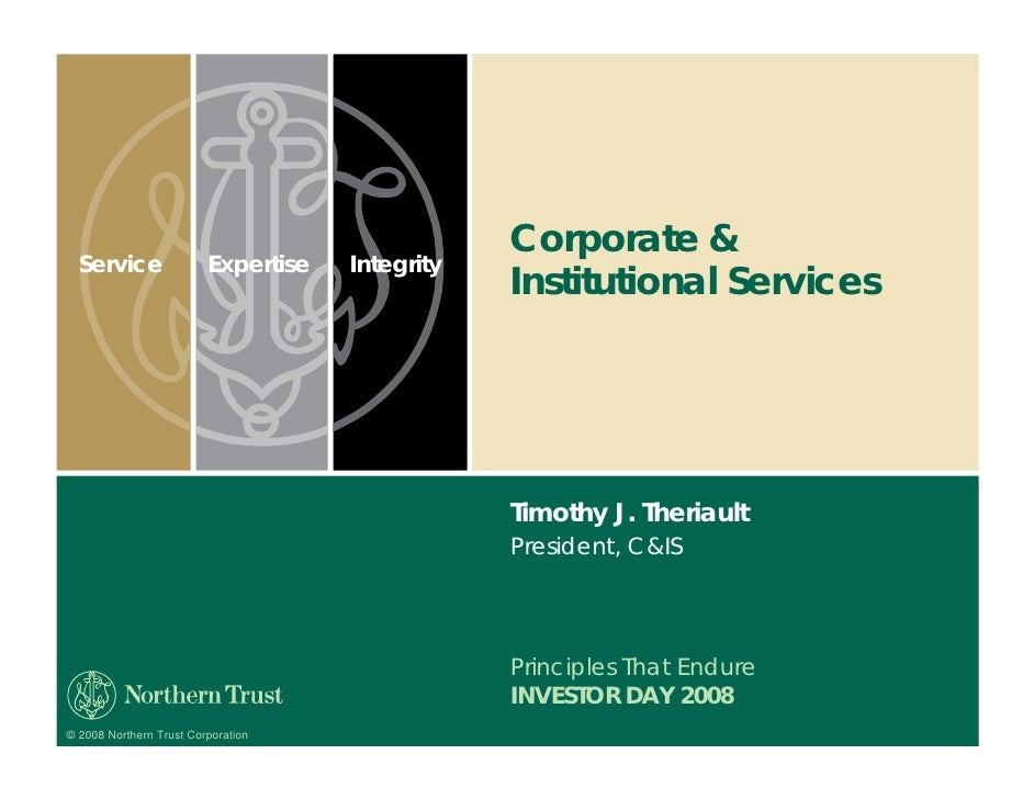 Corporate &   Service                Expertise   Integrity                                                  Institutional ...