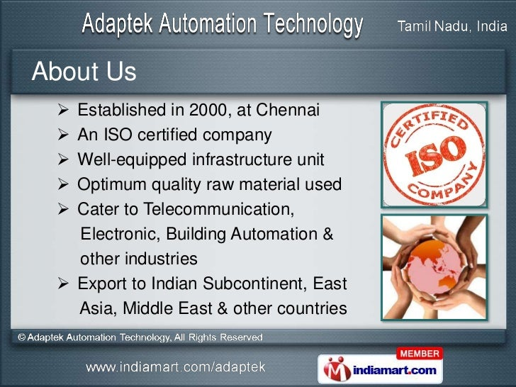Industrial Panel PC by Adaptek Automation Technology Chennai Slide 2