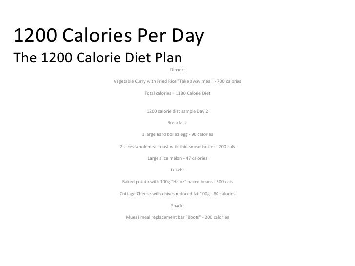 1200 calories per day the 1200 calorie diet plan
