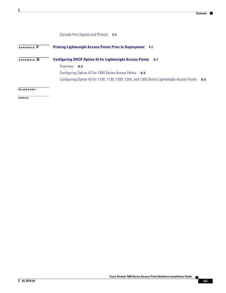 Cisco AP 1200 Series