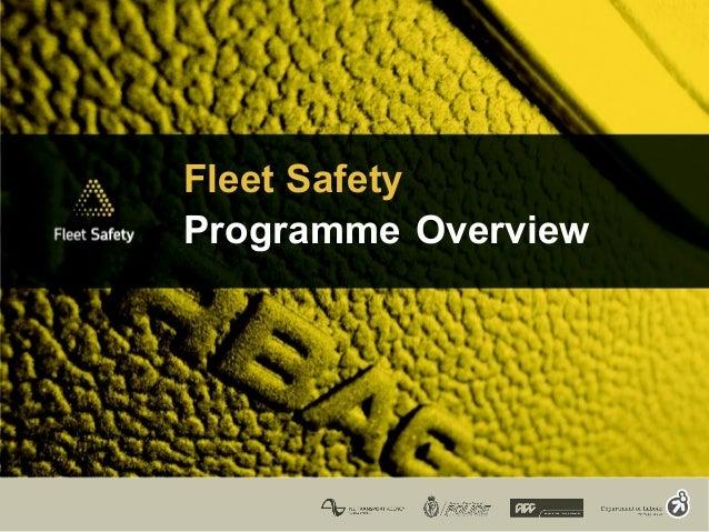Fleet Safety Programme Overview