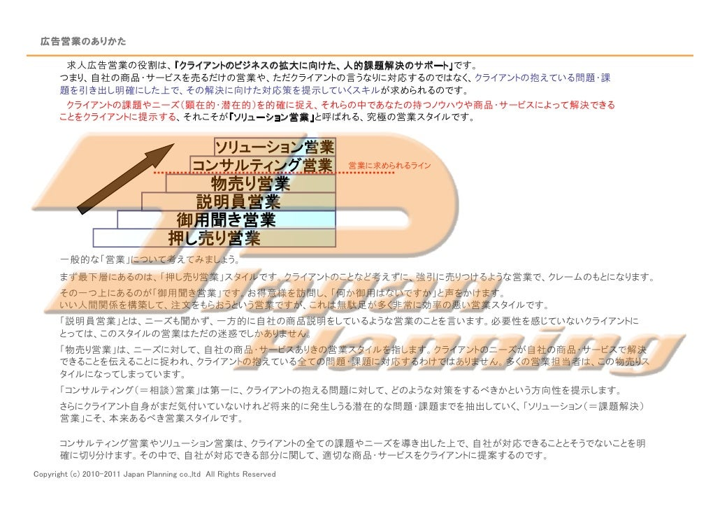 採用広告営業研修 資料120117更新(外部用) Slide 2