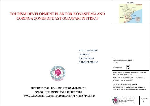 Toursim Development Plan for Konaseema and Coringa Zones Of