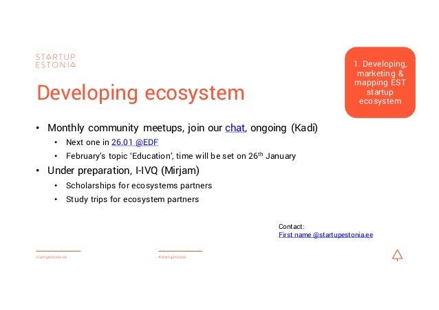 Startup Estonia plans for 2016