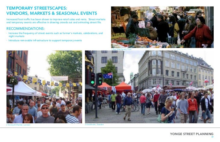 GRANVILLE STREET REDESIGN PROJECT  pedestrian zone, where people can play, walk, shop, and relax on weekends during  the s...