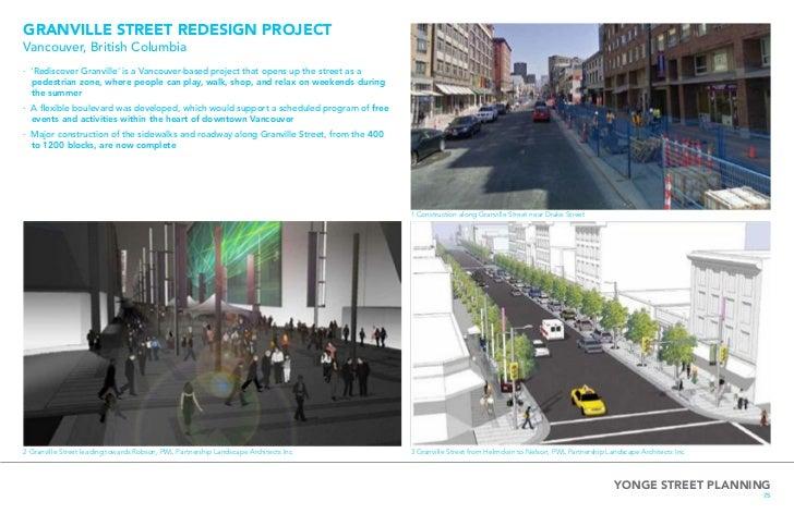 Yonge Street Planning
