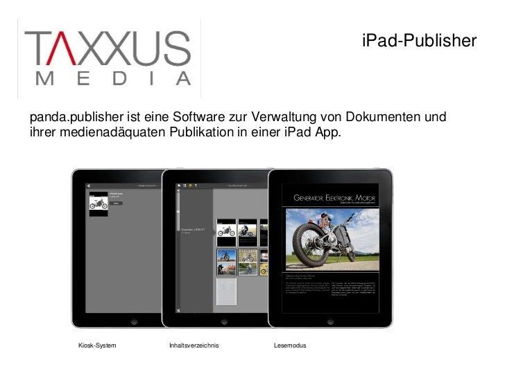 120124 taxxus i_pad_produktion Slide 2