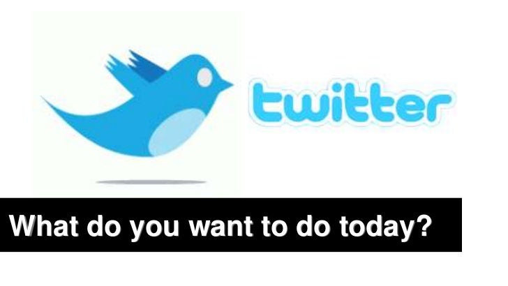 What do you want to do today?