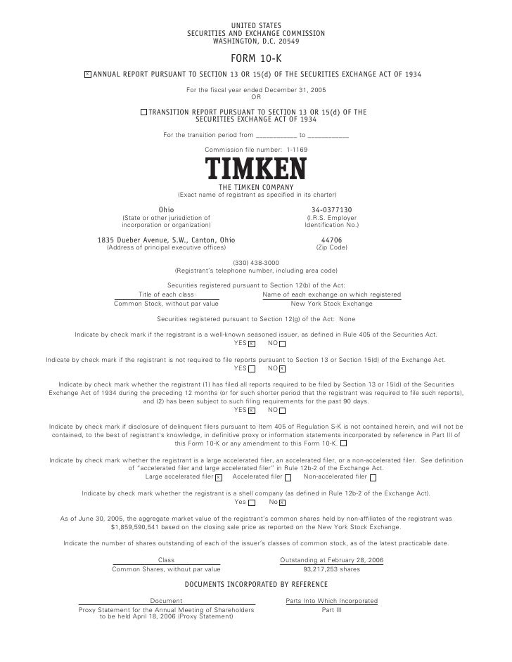 timken report Whether you are a new grad or seasoned veteran, your new career awaits you at timkensteel view job openings & apply online to start a new journey at timkensteel.