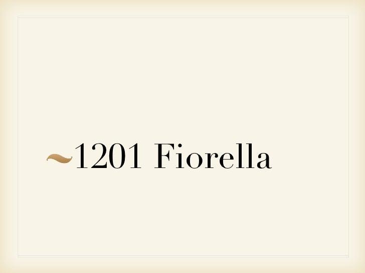 1201 Fiorella