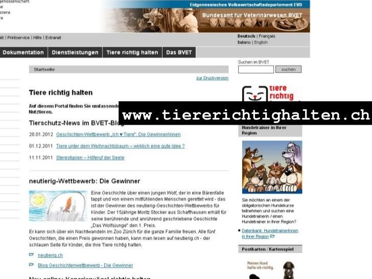 www.tiererichtighalten.ch