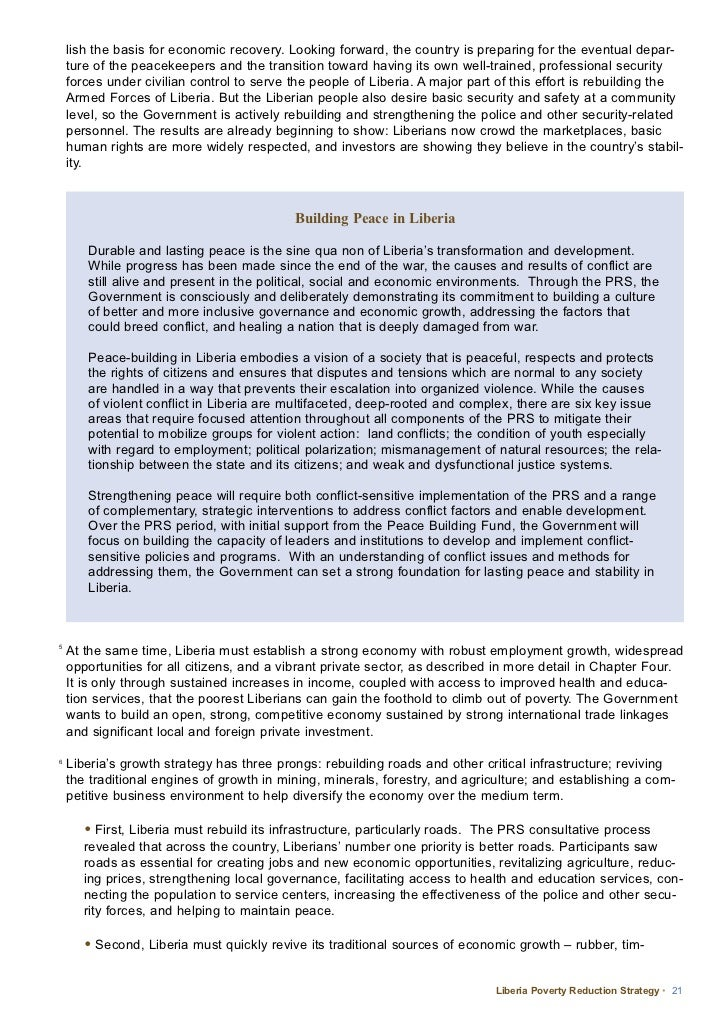 poverty reduction strategy In 1999 that these structural adjustment programmes (saps) would be replaced by poverty reduction strategy papers (prsps) under the new framework the ifis trumpet their enthusiasm for 'country ownership' prsps, they argue, build ownership because rather than the ifis imposing policies, countries are supposed to.