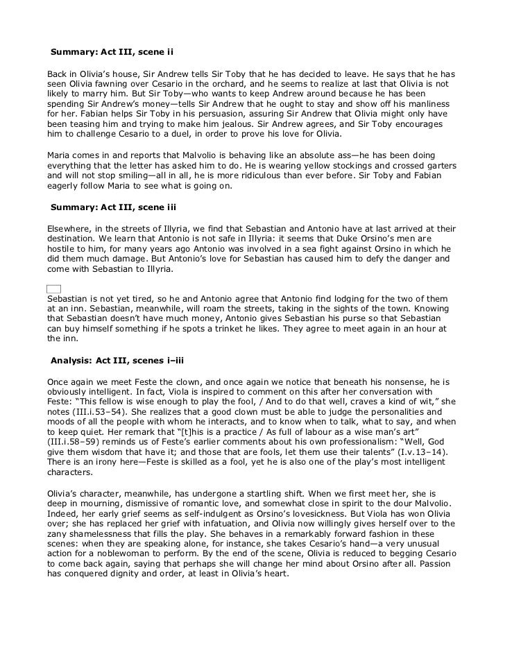 Twelfth night resume