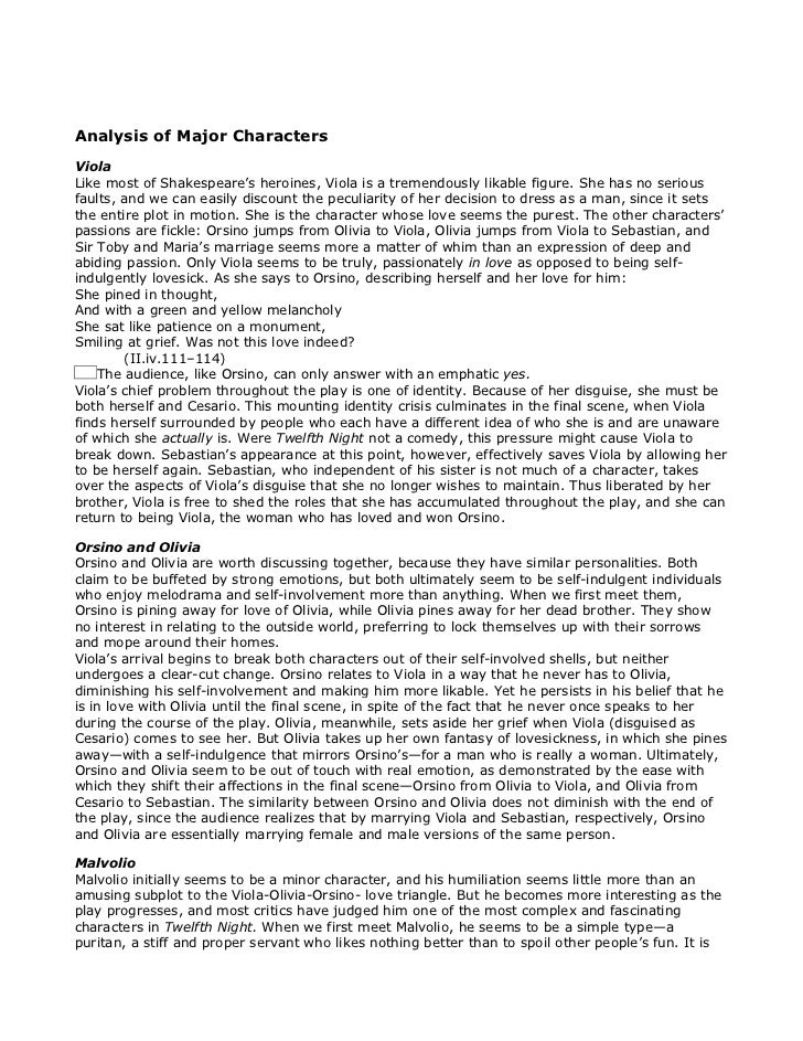 shakespeares twelfth night essay The character malvolio from shakespeares twelfth night english literature essay malvolio's position within the play is that of a steward to the lady of the house, countess olivia.