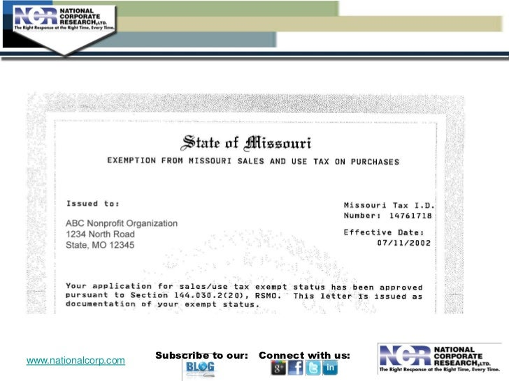 mo state tax id number