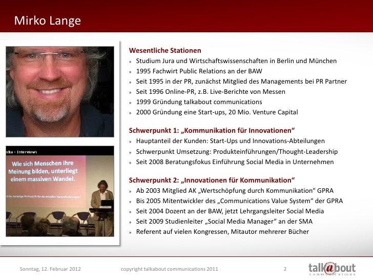 """Vorlesung """"Online PR"""" an der BAW Slide 2"""