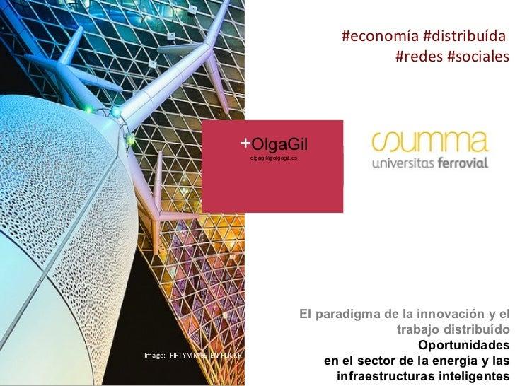 Innovación, redes sociales y economia distribuida