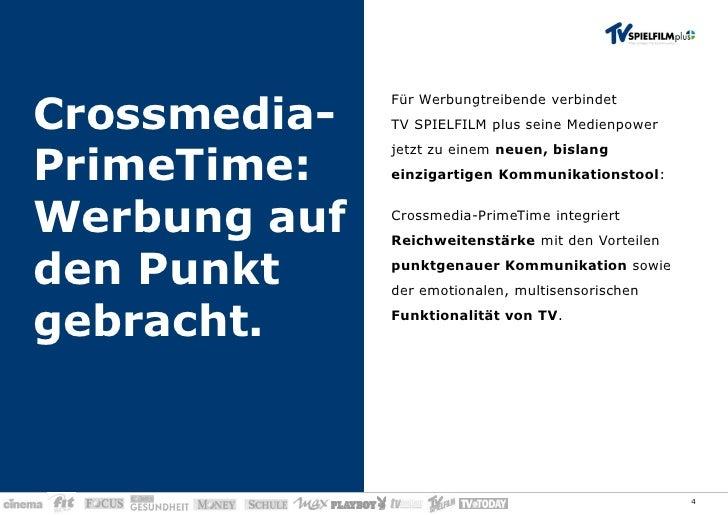 Tv Spielfilm Plus Perfekt Vernetzt In Der Primetime