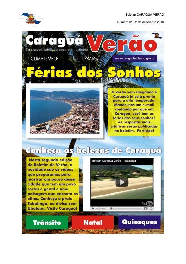 Caraguá Verão nº 01/ 02 Dezembro 2010