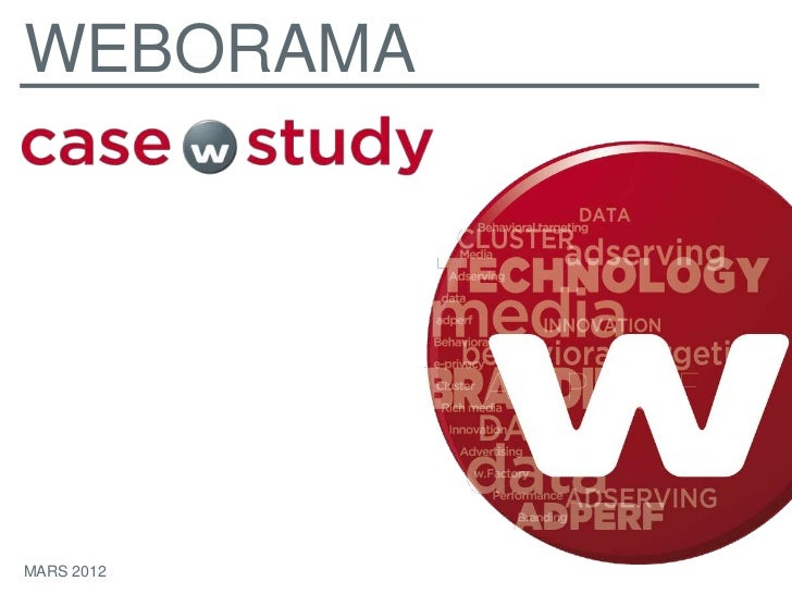 WEBORAMAMARS 2012