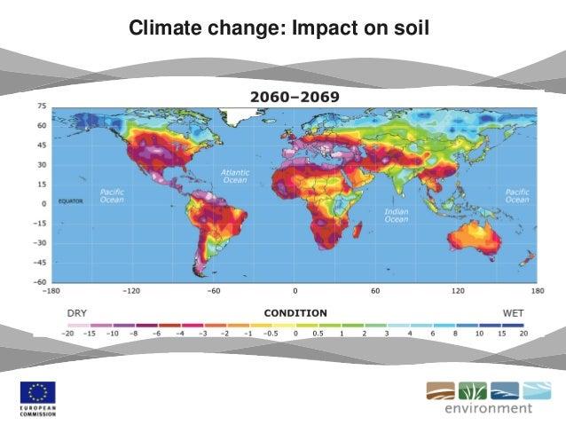 Climate change: Impact on soil