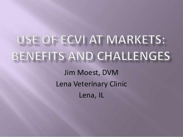 Jim Moest, DVM Lena Veterinary Clinic Lena, IL