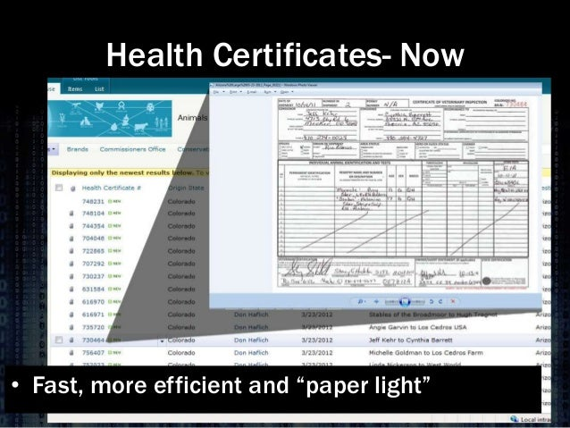 Dr. Keith Roehr - Perspective on the Use of Electronic Interstate Cer…