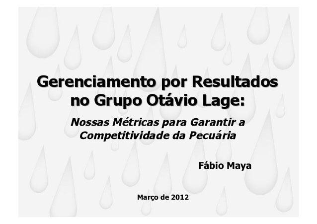 Fábio MayaMarço de 2012