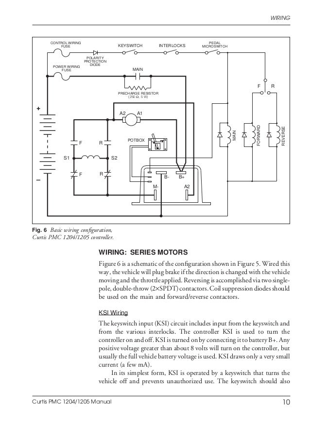 Curtis 1204 Controller Wiring Diagram - Wire Data Schema •