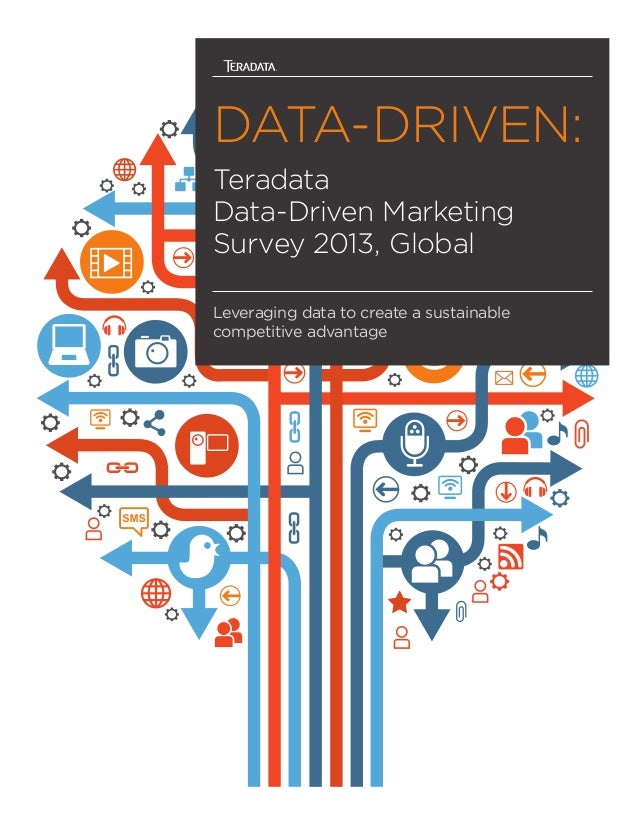 DATA-DRIVEN: Teradata Data-Driven Marketing Survey 2013, Global Leveraging data to create a sustainable competitive advant...
