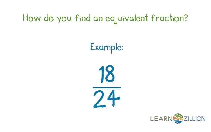 How do you find an equivalent fraction?