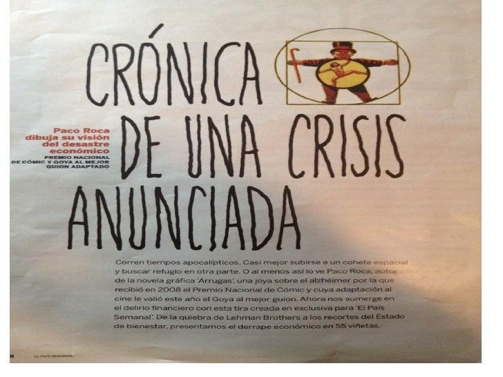 La crisis según Paco Roca