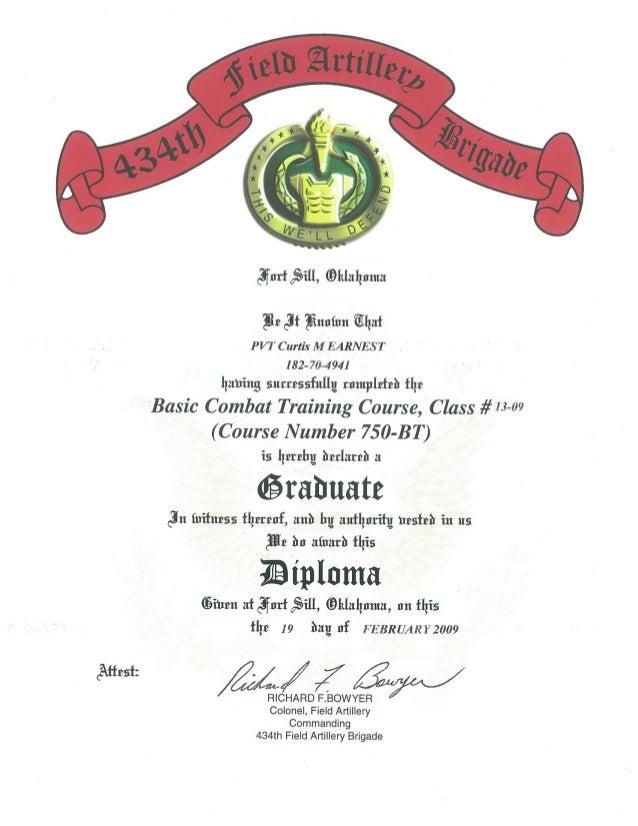 army th field artillery brigade diploma us army 434th field artillery brigade diploma