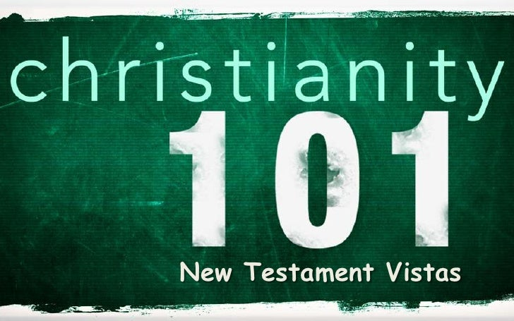 New Testament Vistas