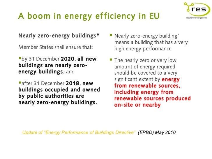 energy performance of buildings directive epbd The management team's kick-off meeting coincided with the publication, in the official journal of the european union, of the epbd review, directive 2018/844, amending directive 2010/31/eu on the energy performance of buildings and directive 2012/27/eu on energy efficiency.