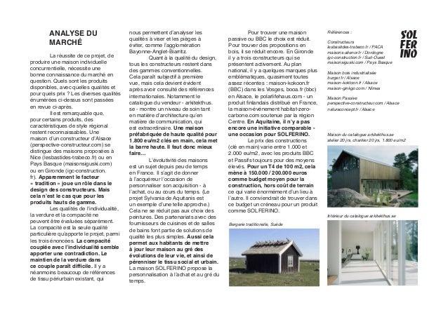 Solferino la maison individuelle compacte pr passive for Constructeur de maison individuelle low cost