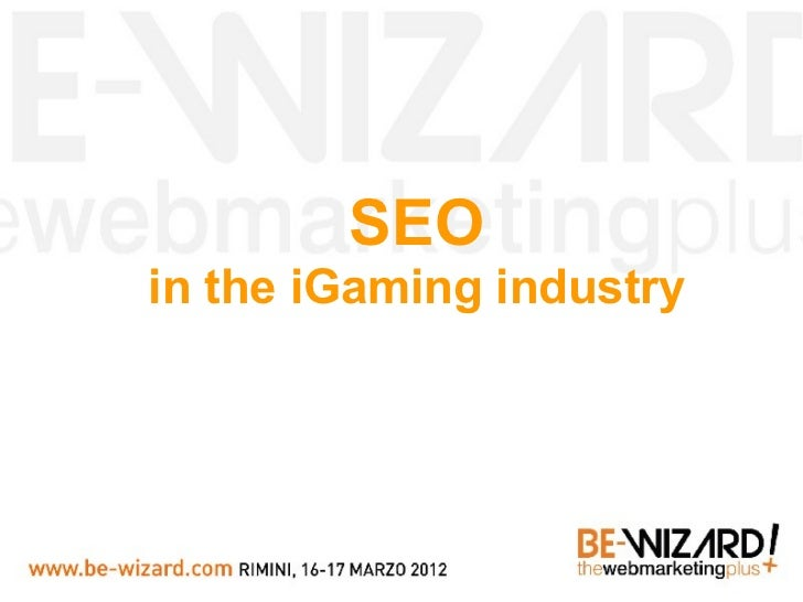 SEOin the iGaming industry