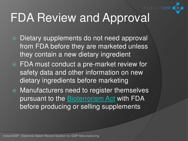 What are Dietary Supplements?