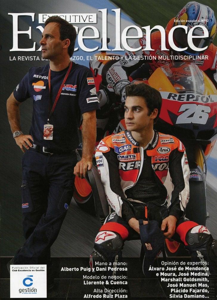 La revista Executive Excellence entrevista a José Antonio Llorente, Enrique González y Arturo Pinedo