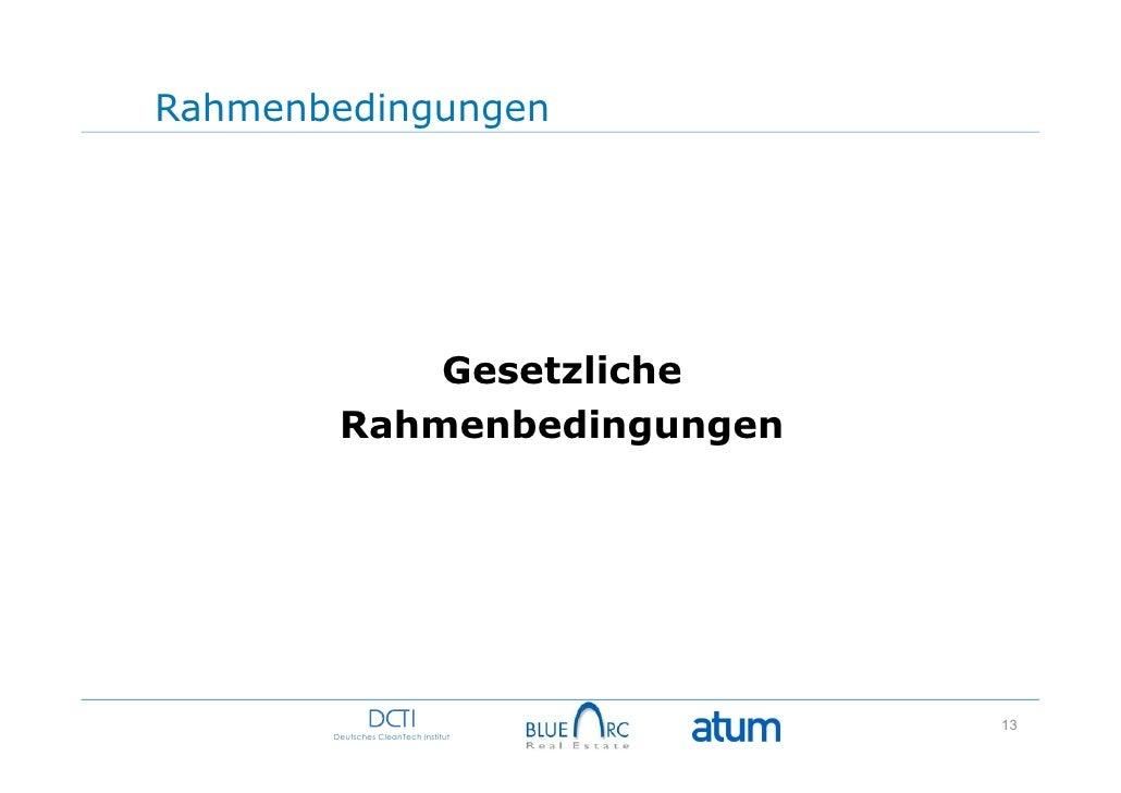 Rahmenbedingungen            Gesetzliche        Rahmenbedingungen                                      13       Deutsches ...