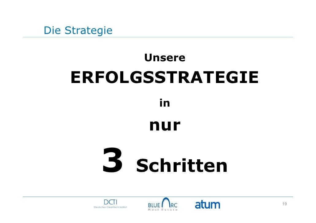 Die Strategie                                        Unsere    ERFOLGSSTRATEGIE                                          i...