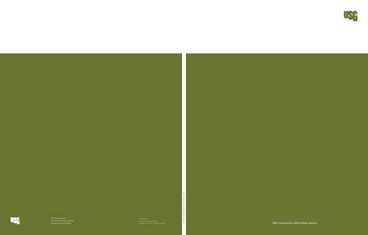 USG Corporation 2005 Annual Report