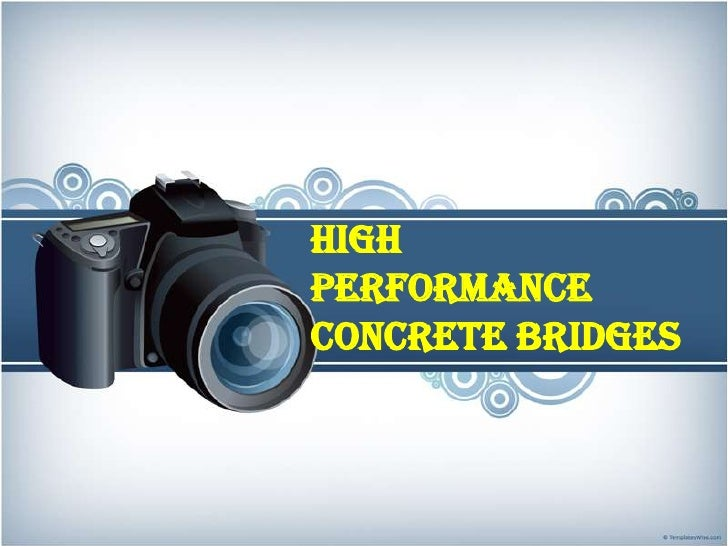 High performance concrete bridges<br />