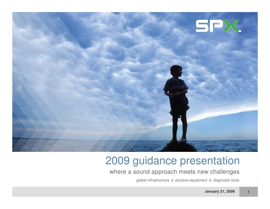 2009 guidance presentation where a sound approach meets new challenges  h          d        h    t       h ll         glob...